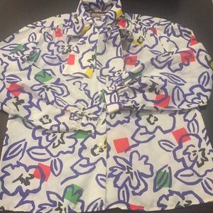 Funky Vintage Blouse